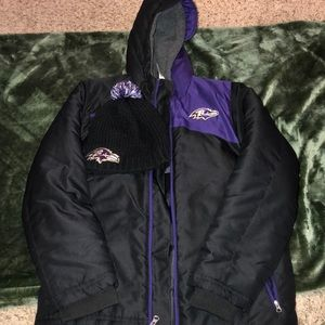 Baltimore Ravens Coats and Hat